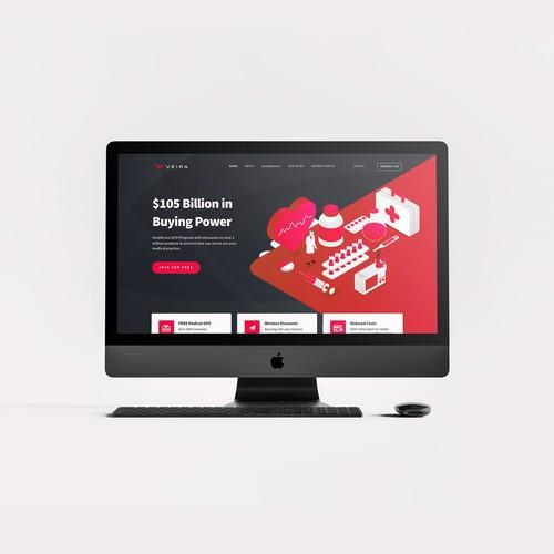 Website Design for Veira Medical Group