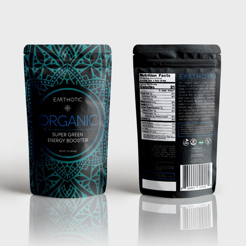 Concept Packaging design for health drink