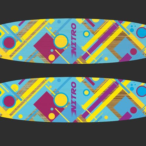 Design for kiteboard