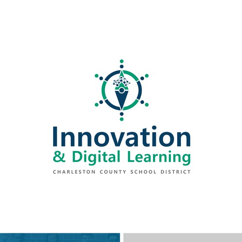 Simple logo concept for CCSD Innovation & Digital Learning