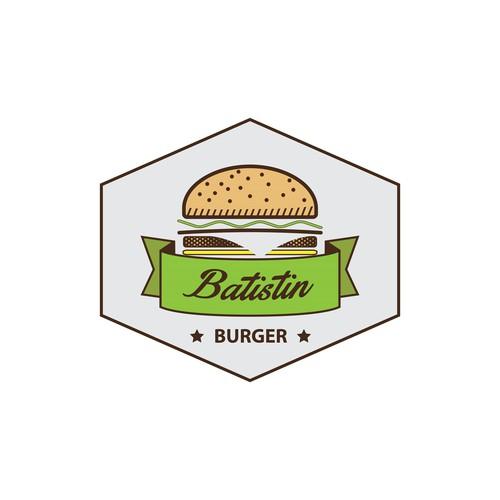 Logo burger restaurant