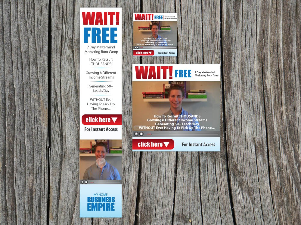 MyHomeBusinessEmpire needs a new banner ad