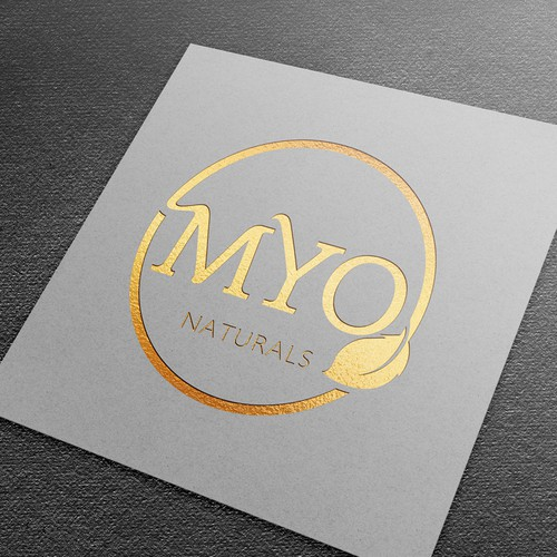 Logo design for Myo Naturals