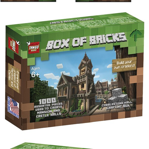 1000 bricks box