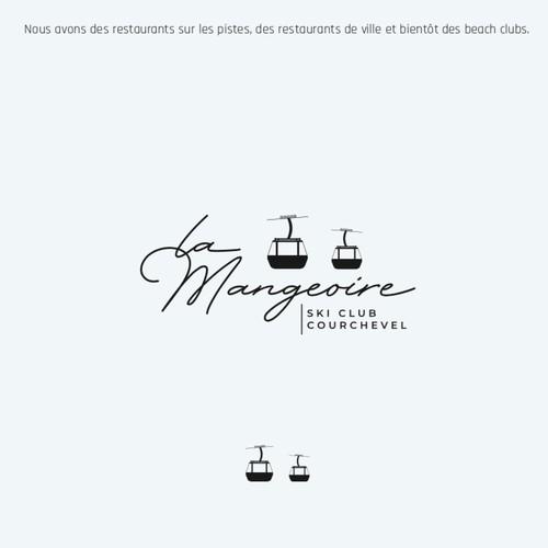 Concept de logo La Mangeoire