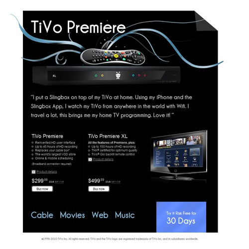 TiVo Email Campaign