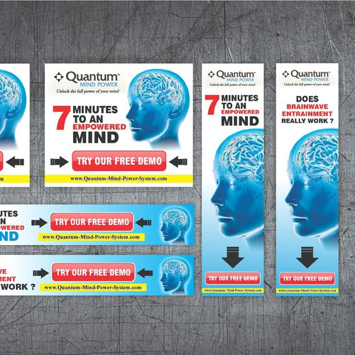 New banner ad wanted for Quantum Mind Power