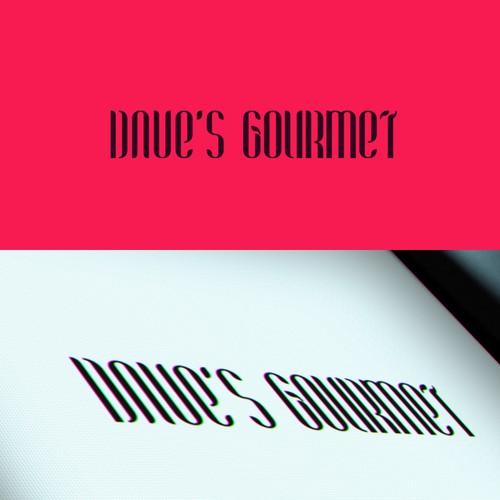 Update Dave's Gourmet Logo
