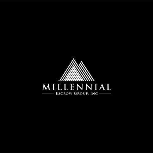 Clean logo for Millenial