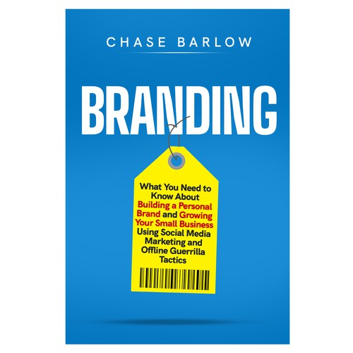 Book cover for non-fiction - marketing