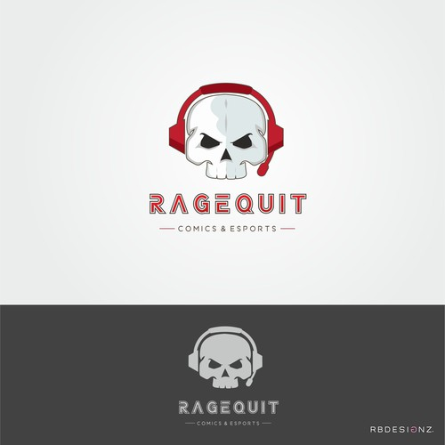 Logo design for a online sports and gaming comic