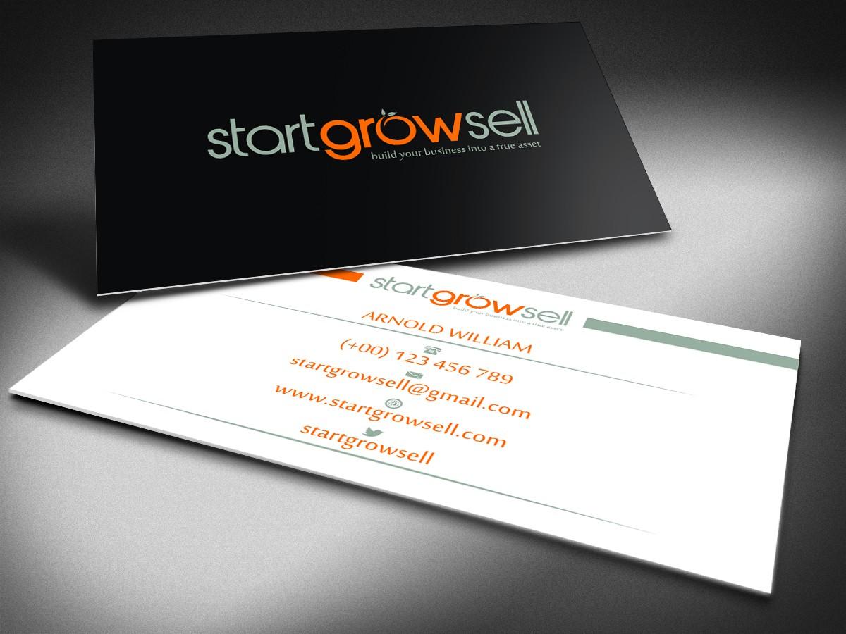 Create a funky modern logo for online entrepreneur