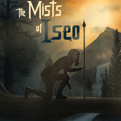 Book cover entry for The Mists of Iseo