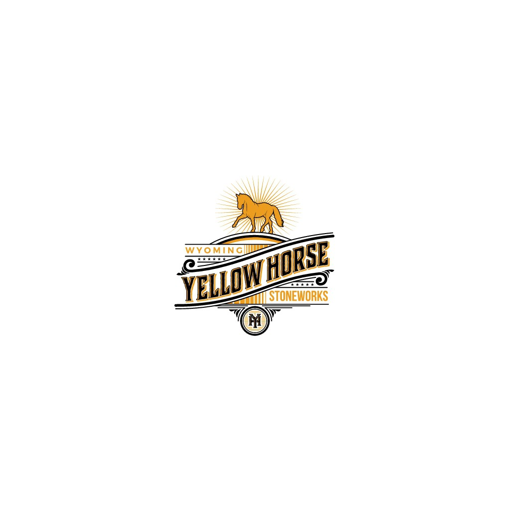 Need a unique western themed logo for YellowHorse Stoneworks