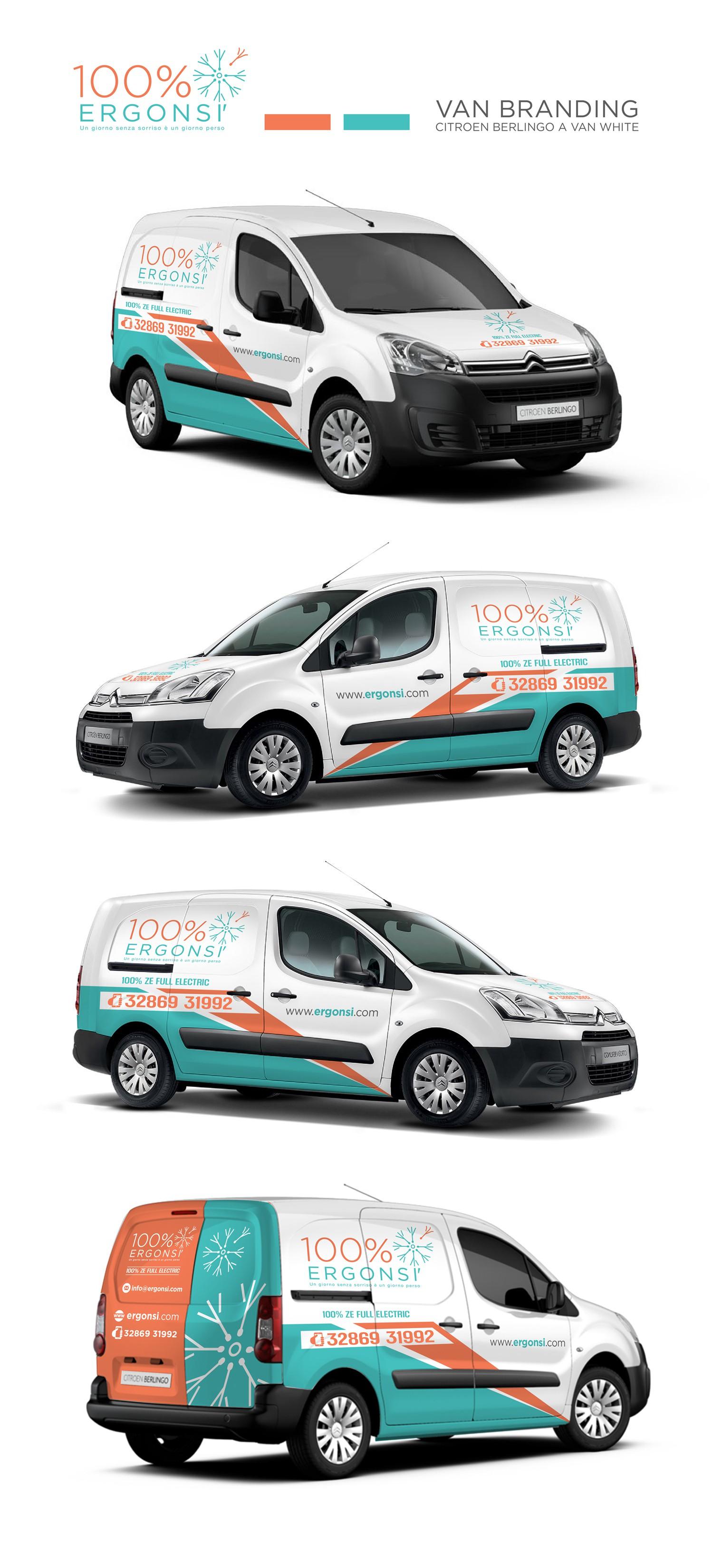 ERGONSI' Van branding