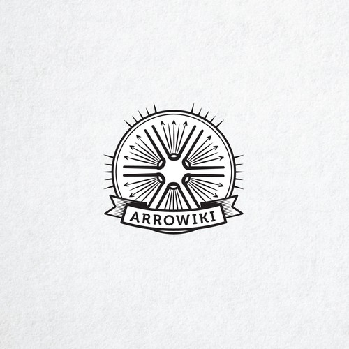 Logo for archery website