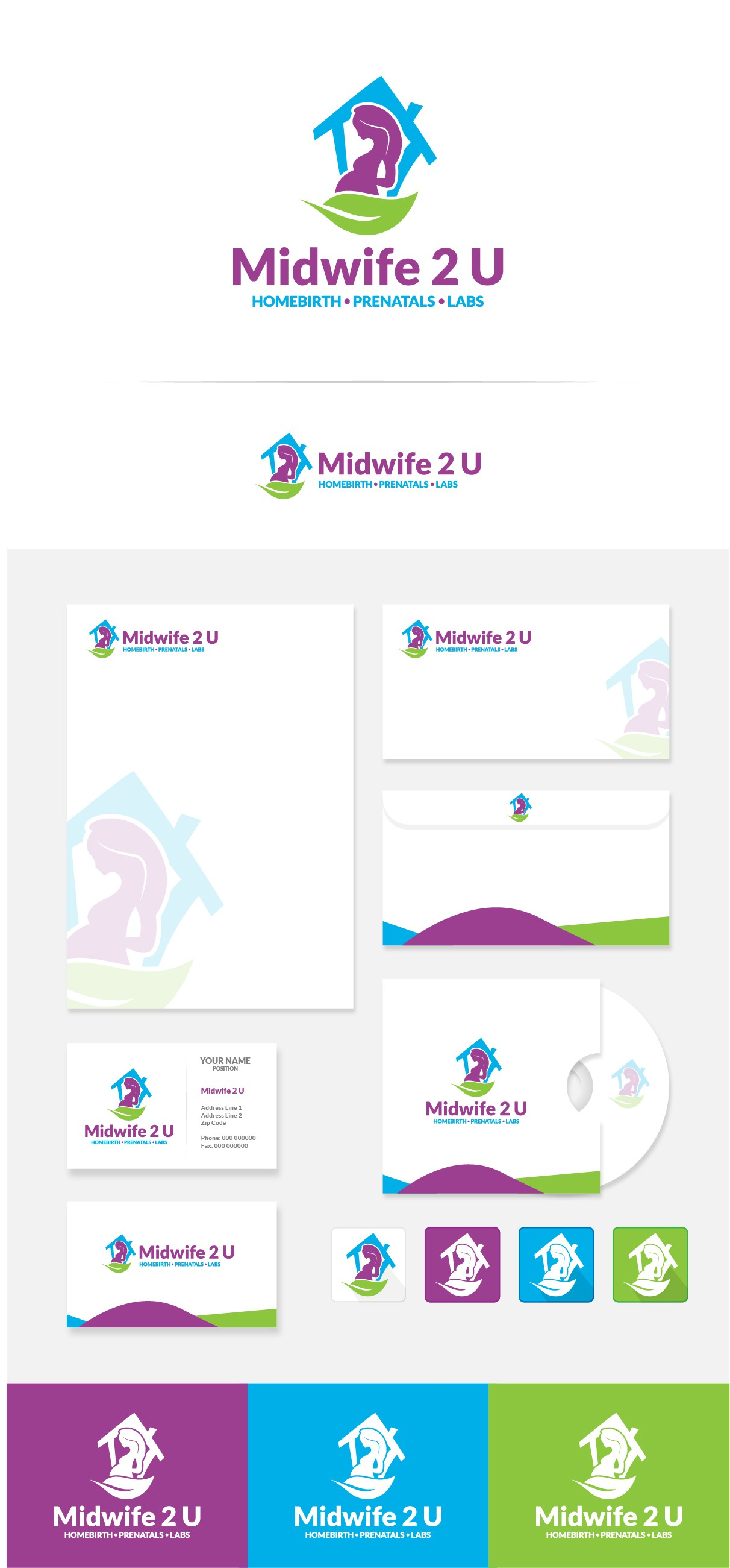HOMEBIRTH Midwife needs an amazing logo