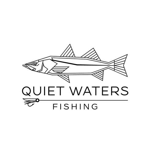 Quiet Waters fishing Logo