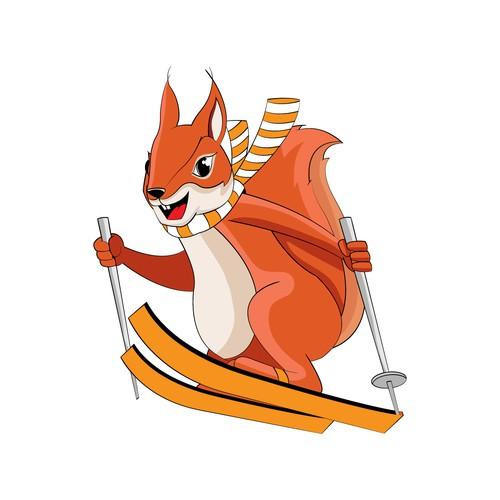 """Mascot """"Lärchi"""""""