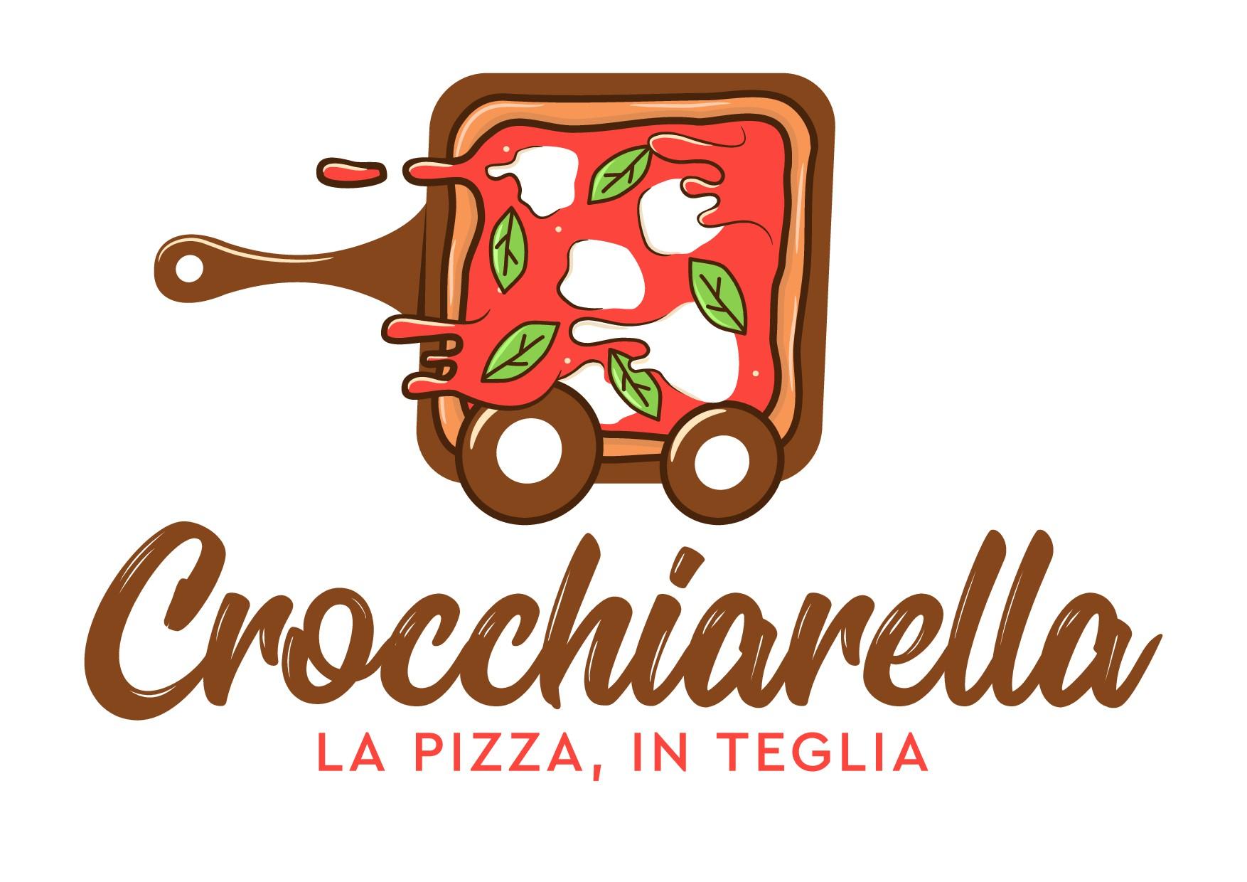 Crea un logo ed una brand identity per una pizzeria al taglio