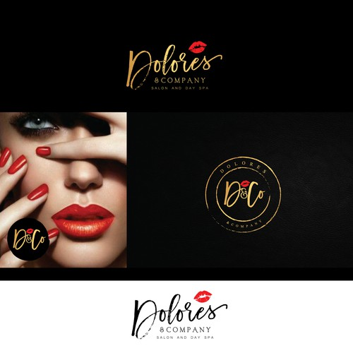 Logo design for salon&spa