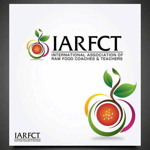 New logo and business card wanted for IARFCT (International Association of Raw Food Coaches & Teachers)