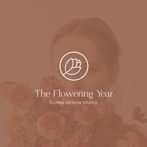 Floral studio logo concept