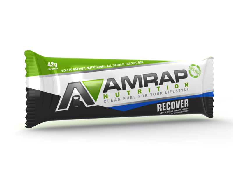 AMRAP Nutrition needs a new product packaging