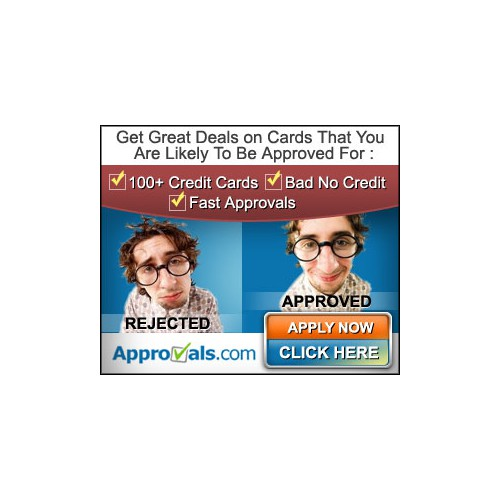 banner ad for Approvals.com