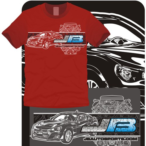 JB Autosports - Race Shop T-Shirt