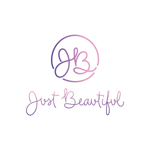 Hand lettered logo for clothing company and maternity wear