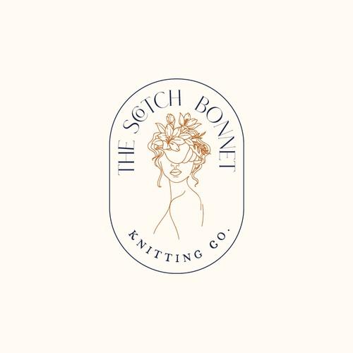Handdrawn logo concept for The Scoth Bonnet