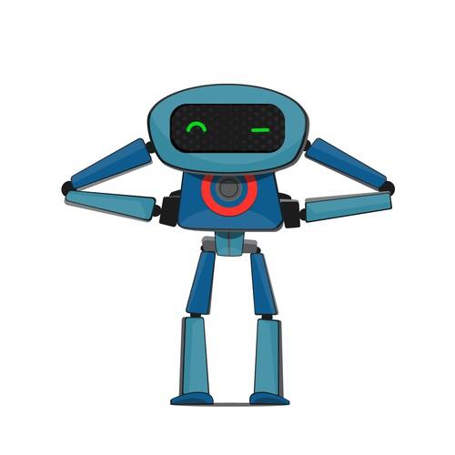 cyberwarrior mascot design for cyber security company