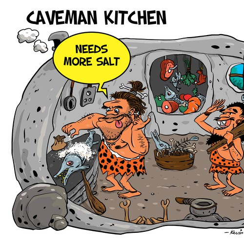 Caveman Kitchen _from 1 to 1 project
