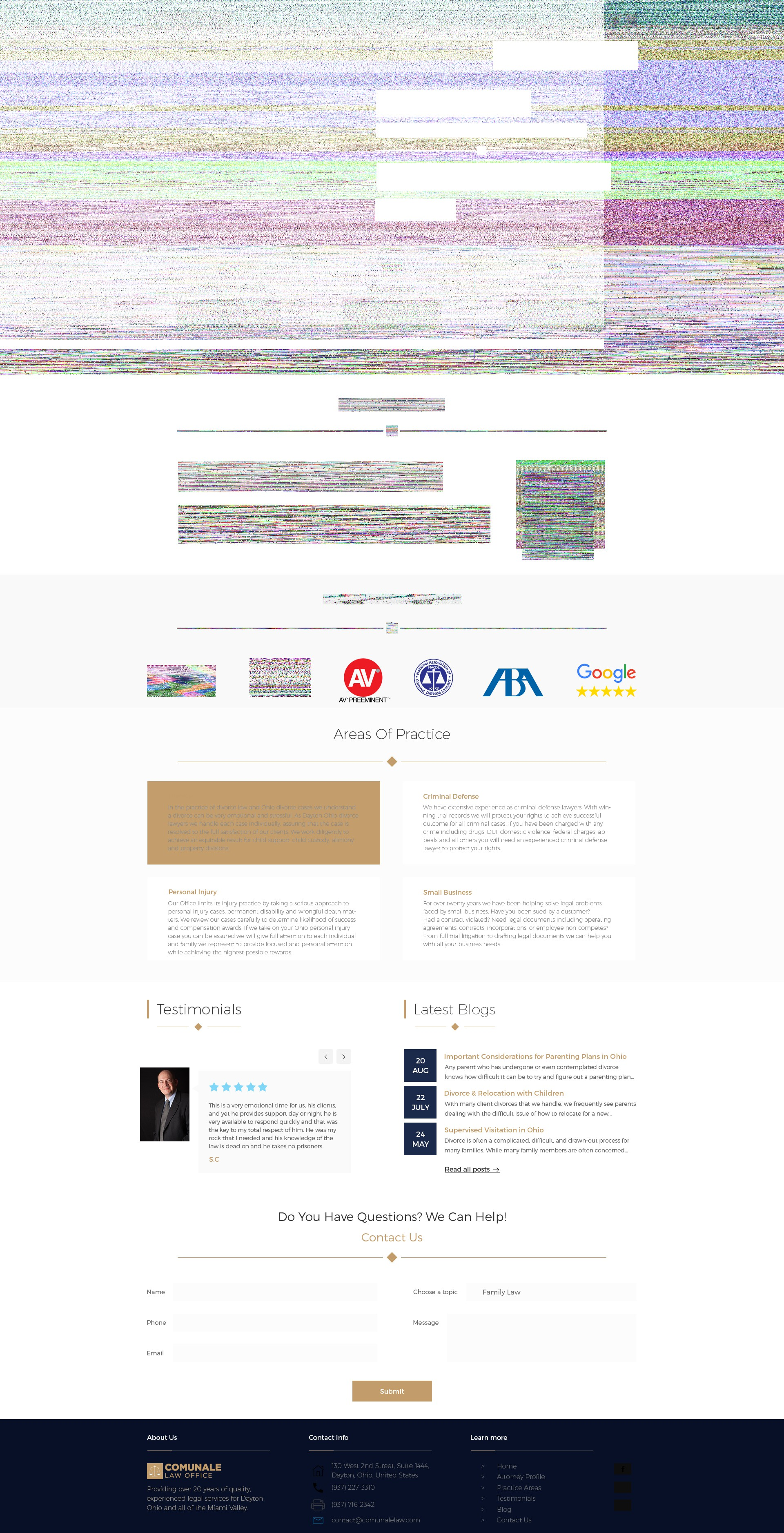 Comunale - Landing Page