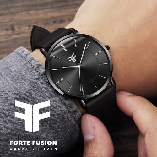 Bold and masculine logo for luxury sport watch brand