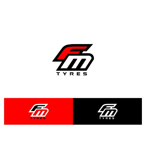 LOGO DESIGN FOR FM TYRES