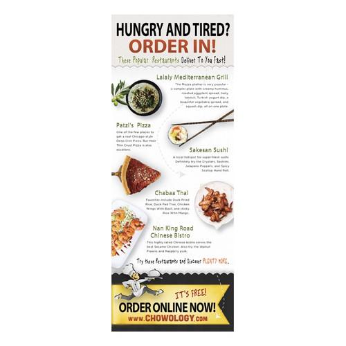Door Hanger for Food Delivery