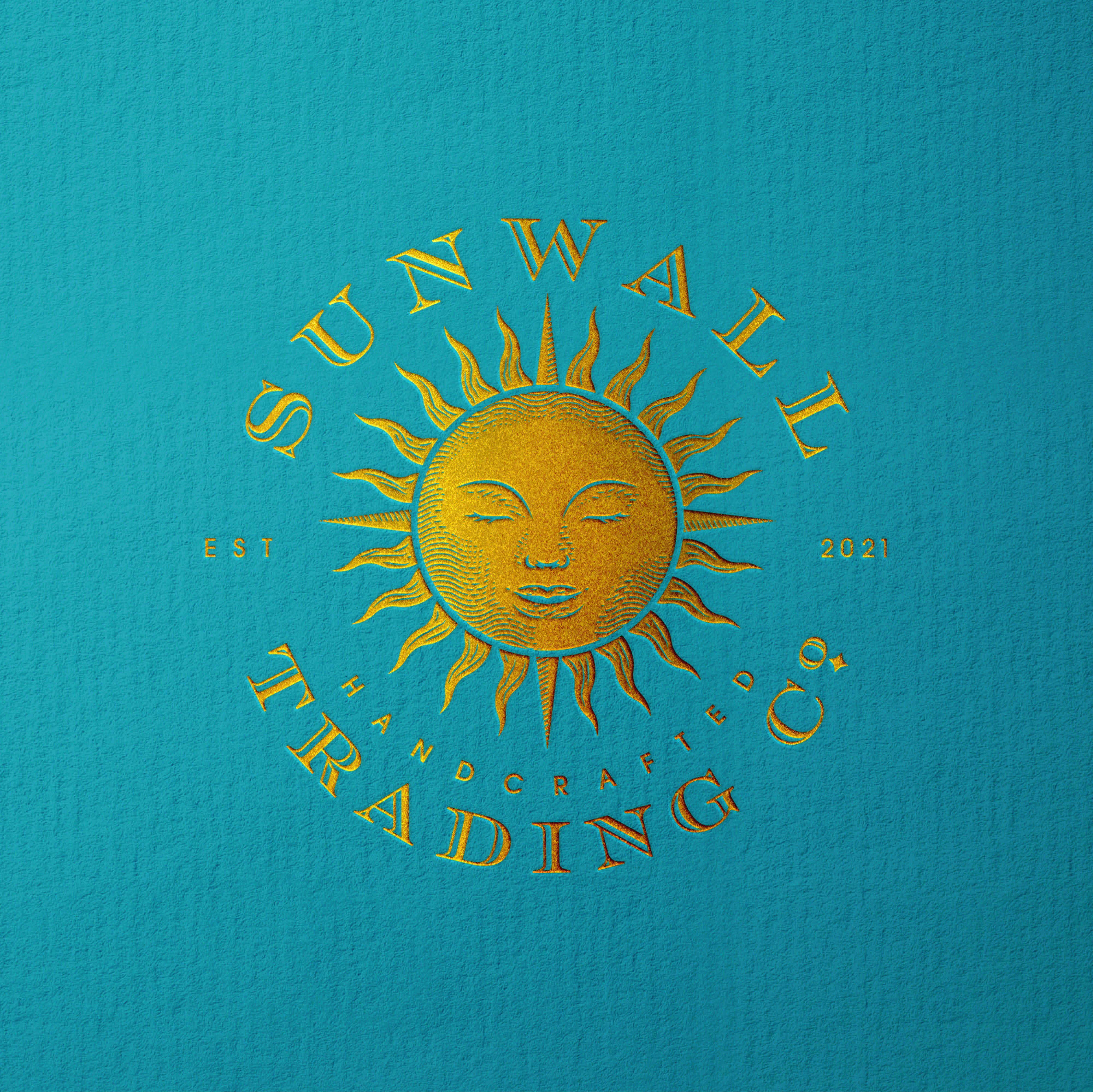 Hatching/stippling style sun logo... let's create an awesome vintage-luxury logo!