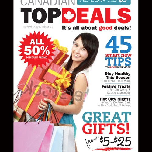 Magazine Cover for Canadian Top Deals