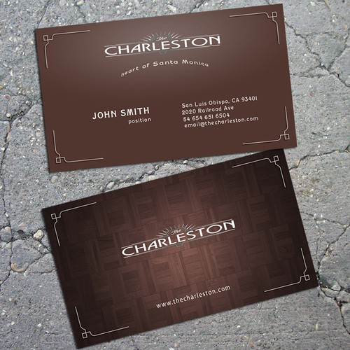 Prohibition Bar Needs a Business Card Design