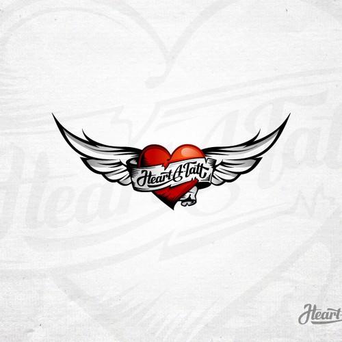Tattoo Style Logo