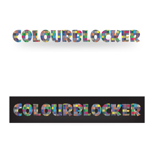Help colourblocker with a new logo