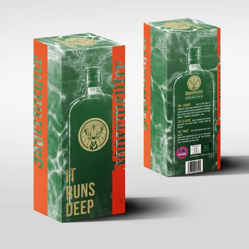 Jagermeister holiday packaging