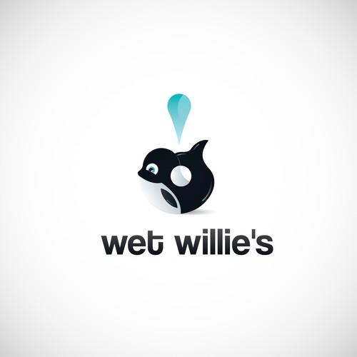 Wet Willie's Logo Design