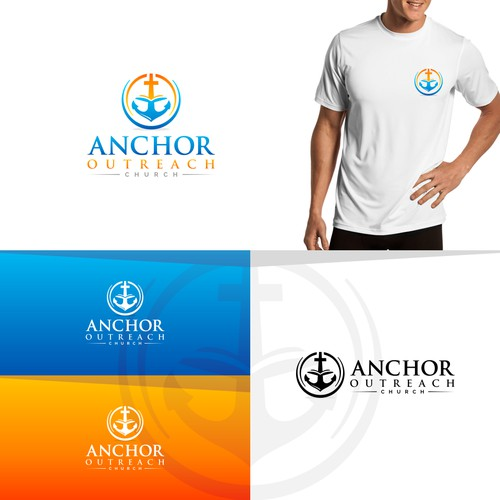 logo concept for Anchor Outreach