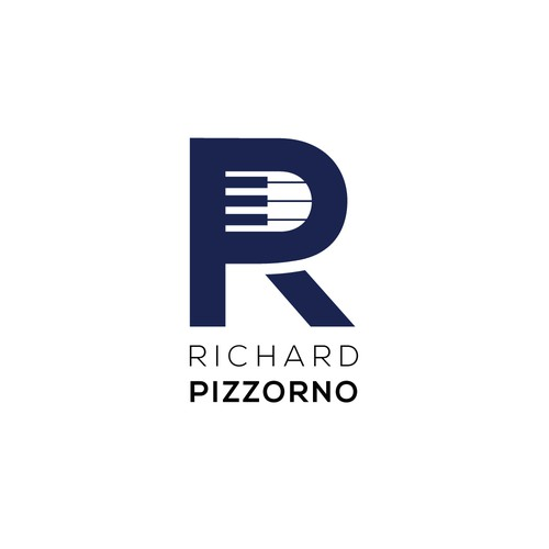 Richard Pizzorno logo for jazz musician