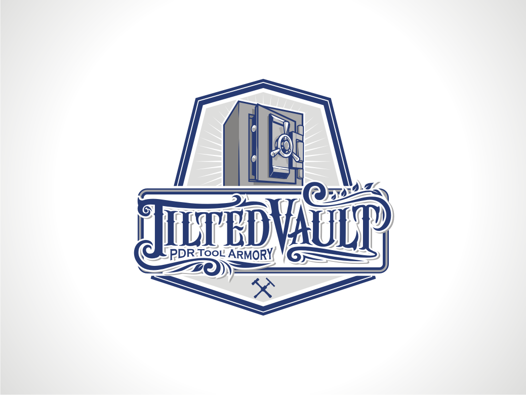 Create a unique, strong, trustworthy logo for Tilted Vaultl
