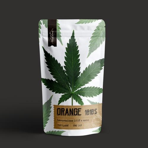cannabis pouch design