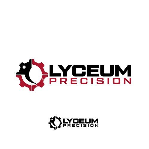 Logo design for Lyceum Precision